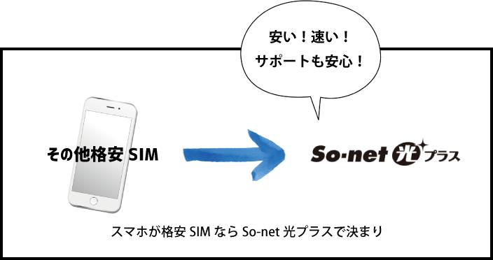 【解説】格安SIMユーザーはSo-net光プラス一択