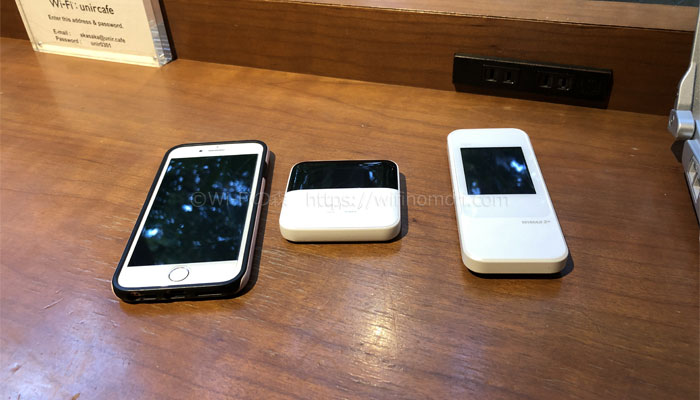 スペースWi-Fiの速度比較東京