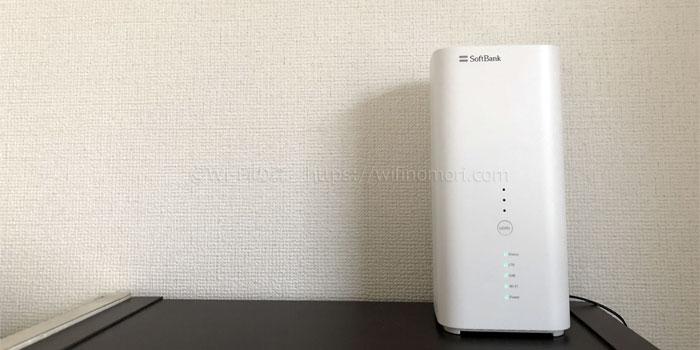 ソフトバンクエアーの廉価版Wi-Fiモバレコエアー