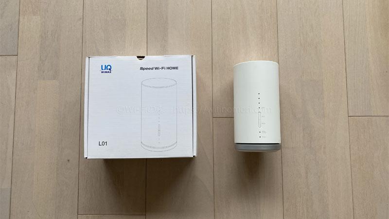 WiMAX ホームルーター L01