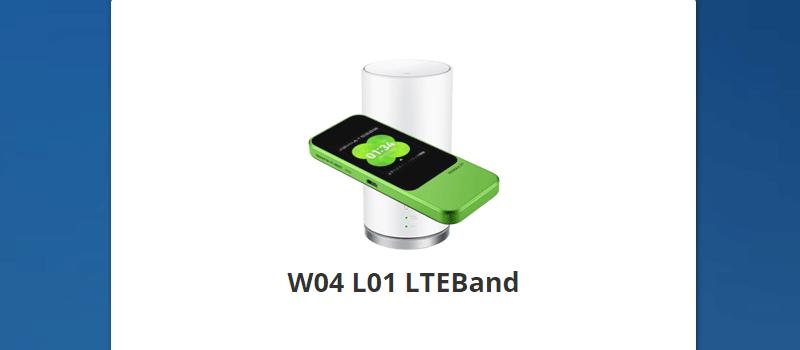 Android専用アプリ「W04 L01 LTEBand」をインストールする