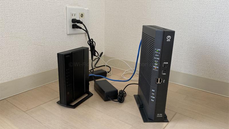 IPv4(PPPoE)からIPv6(IPoE)へ変更する方法|HGW+無線ルーター