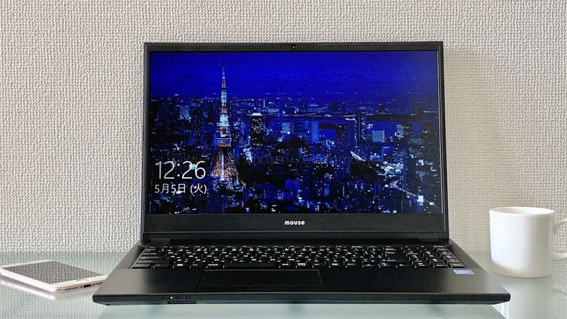 マウスコンピューター「F5-celeron」レビュー|SSD搭載15.6インチ高速ノートパソコン