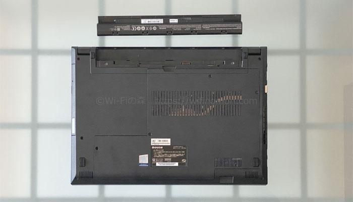 F5-i5 バッテリー外せる