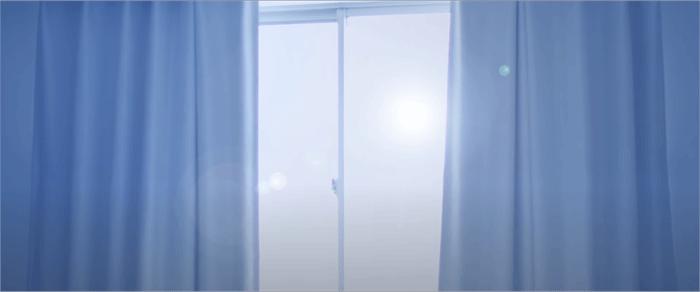 目覚ましカーテン「モーニンプラス」