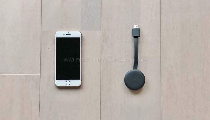 iPhoneとクロームキャスト