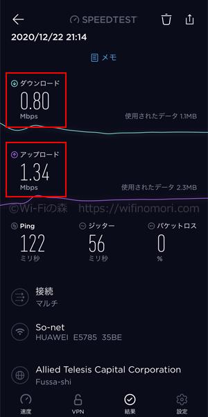 「エキサイトモバイルWiFi」の実際の速度を検証