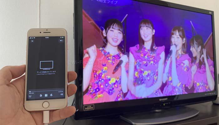 いつものようにブラウザを開いて「のぎ動画」を再生させれば、そのままテレビで視聴することができるでしょう。