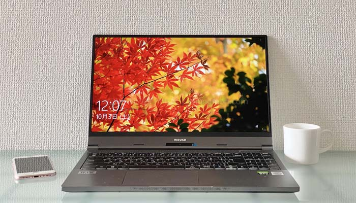 マウスコンピューター「G-Tune E5-144」レビュー|Core i7&RTX2060搭載ゲーミングノートパソコン