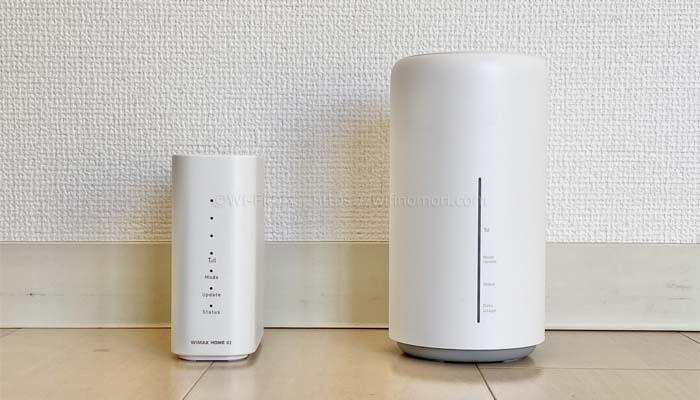 WiMAXホームルーターのおすすめは?どっちが速い?「HOME 02」と「HOME L02」を実際に使って徹底的に比較しました