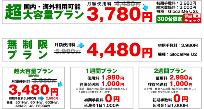 NOZOMI WiFiの料金・ルータースペック・補償など