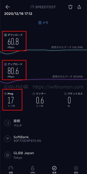 名古屋市中村区ソフトバンク光の速度