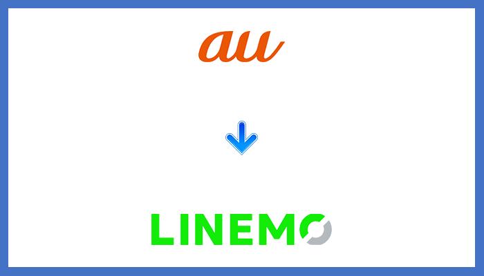 auからLINEMOに乗り換える手順
