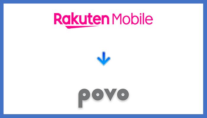 楽天モバイルからpovoに乗り換える全手順