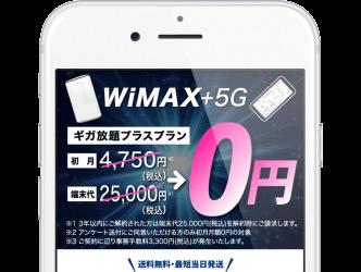 カシモWiMAXの公式サイト