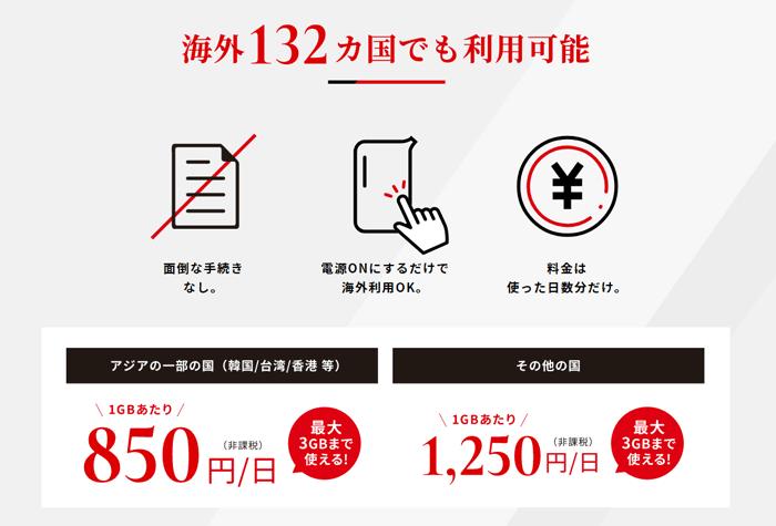THE WiFiは海外でもそのままWi-Fiが使える